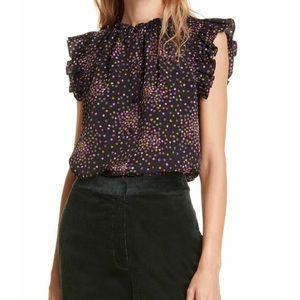 ♠️💜🔥 Kate Spade blouse STUNNING